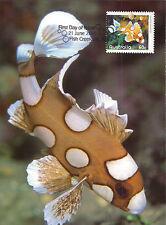 Complete Set 8 maxicards Australia 2010 Exotic Fish Marine life maximum cards