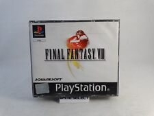 FINAL FANTASY VIII 8 PRIMA STAMPA BLACK LABEL PS1 PS2 PS3 PAL ITALIANO COMPLETO