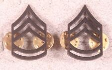 Enlisted Rank Pin:  Army Sergeant First Class - subdued pair