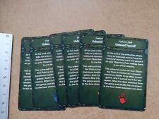 ENDLESS NIGHMARE SCENARIOS CARDS   /CTHULHU / DEEP MADNESS M316