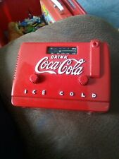 COCA COLA - MINI COOLER RADIO fully working 1998 made in China made of metal