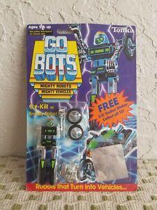 Vintage 1985 Gobots Go Bots Bandai Cy-Kill #45 Green Black Variant Motorcycle