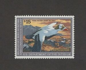 RW59 Federal Duck Stamp. Single. MNH. OG. X/F - Superb Centering.  #02 RW59b