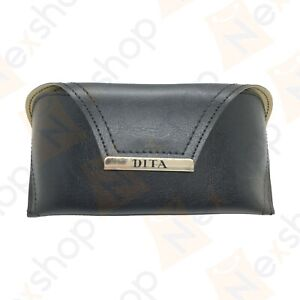 Dita Sunglasses Eyeglasses Optical Soft Leather Case with Cleaning Cloth & Box