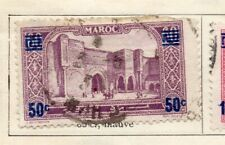 Morocco 1931 Early Issue Fine Used 50c. Surcharged 309606