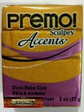 M00609 Morezmore Premo Accents Sculpey Gold 2oz Polymer Oven-Bake Clay T20