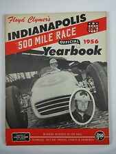 1956 Indianapolis 500 Floyd Clymer's Yearbook History Pat Flaherty Watson / Offy