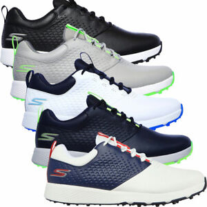Skechers Go Golf Elite 4 Waterproof Leather Mens Spikeless Golf Shoes / NEW 2021