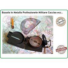 Compass Bussola Cartografica Metallo Professionale Scout Militare Campeggio