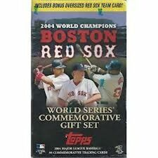 Boston Red Sox 2004 Topps World Series Champions Factory Sealed 55-card Box Set