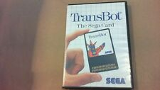 TRANSBOT THE SEGA CARD master system