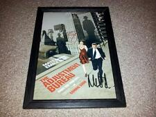 "THE ADJUSTMENT BUREAU PP SIGNED & FRAMED 12X8"" A4 PHOTO POSTER MATT DAMON"
