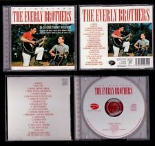 THE EVERLY BROTHERS - EC CD EAGLE MASTERS - 20 TRACKS
