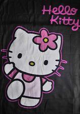 Hello Kitty-Fleecedecke schwarz 160 * 125 cm, Katze
