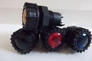 12V  LARGE WARNING LIGHT X 4 CAR DASH INDICATOR LAMP CLASSIC KIT OIL BATTERY