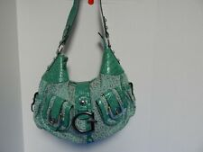 Elegant Guess Hobo Studs  Handbag Purse Green Color