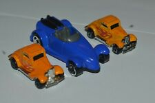 1979 Hot Wheels 2 Micro Racers 3 Window Ford 1 3/4 Inch Long Malaysia Used