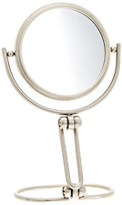 Mirror Makeup Women Magnifier Portable Jerdon Bathroom Modern Folding Travel 15x