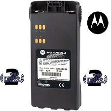 Real Motorola Hnn4003br Hnn4003 Ht750 Ht1250 Ht1550 Pr860 Liion Impres 2350 Mah