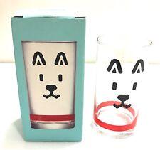 "Japan Import NEW ""OTOSAN"" SoftBank's Famous Shiba Dog Mascot Glass H:14cm"