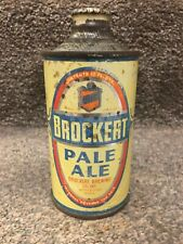 New ListingBrockert Pale Ale, Irtp;12oz Cone Top Beer Can; Worcester, Ma, Mass