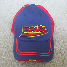 SPAIN ESPANA  WORLD CUP FIFA Soccer OLYMPICS CLOTH ADJUSTABLE hat cap