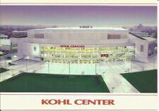 Vintage University of Wisconsin Badgers Hockey Bb Arena Stadium Postcard Madison