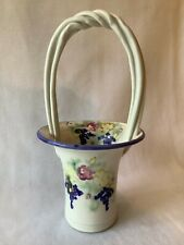 Clouds Of Folsom Hand Thrown Porcelain Basket