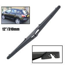"""12"""" Rear Windscreen Wiper Blade Fit For Nissan Qashqai / 2 J10 2006->2013"""