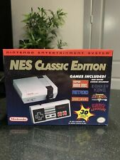 Nintendo Nes Classic Edition! With 30 built-in games Free Usps! Free Returns!