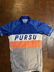 Le Col Pursu Ladies Cycling Top Retro Print Small
