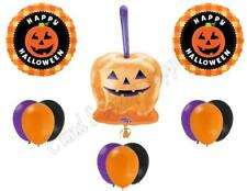 CANDY APPLE HALLOWEEN Party Balloons Decoration Supplies Trick Or Treat Pumpkin