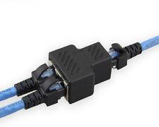 1 to 2 LAN Ethernet Network Cable RJ45 Splitter Extender Plug Useful Connector