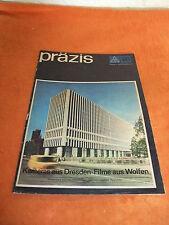 DDR Werbung Reklame präzis Pentacon ORWO Kamera Film Revue Prospekt Katalog 1969