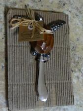 Mud Pie 4031012 Sea Turtle Spreader, Silver Color Blade New!