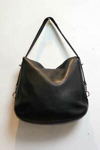 Coccinelle Leather Shoulder Tote Bag Black