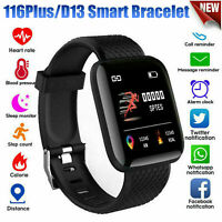 Smart Watch Bluetooth Heart Rate/Oxygen Blood Pressure Sport Fitness Tracke Z0V5