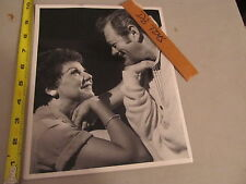 Errol Flynn? vintage Photograph with Co-star Milwaukee Journal original stamp