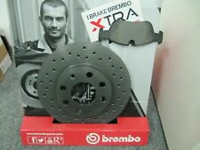 Brembo XTRA-Bremsscheiben und Bremsbeläge Alfa Romeo 159 und Brera Satz hinten