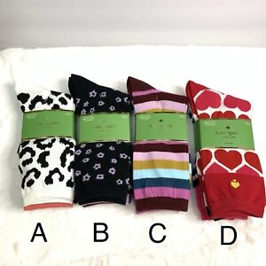 Kate Spade Woman's Crow Socks 3 Pair Pack one size 4-10 fits most