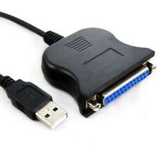 1.2M USB 2.0 Male to 25 Pin DB25 Female Parallel Port Printer Adapter Cable Hot