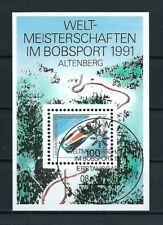 B.4 - BRD WM Bobsport 1991 Mi.1496 Block23 ESSt BONN gestempelt LUXUS!