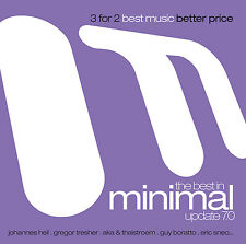 CD The Best in minimo Update 7.0 di Various Artists 3cds