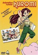 """COFFRET 2 DVD """"ANIMATION RUNNER KUROMI"""" manga"""