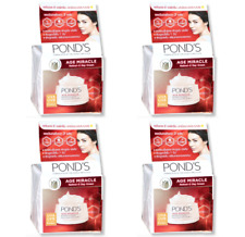 4 pcs Pond's age miracle wrinkle corrector day cream skin tightening facial care