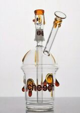 Collectible Hookah Water Pipe Thick Glass Bong, Smoke Bubbler, Oil Rig