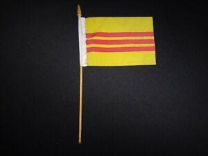 Vietnam War ARVN South Vietnam Small Flag For Meetings or National Celebration