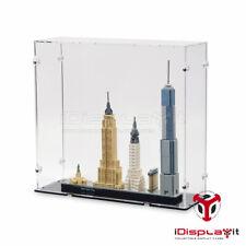 Acryl Vitrine für Lego 21028 New York City - Neu
