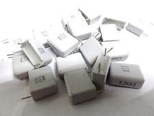 20 Evox 2.2uf 63V MMK15225K63 polyester capacitor 15mm MMK 2U2