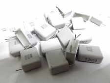 20 EVOX 2.2uf 63V MMK15225K63 Condensatore Poliestere 15mm 2U2 MMK
